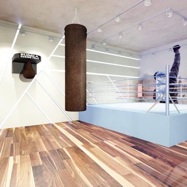 Дизайн спортивного зала в доме