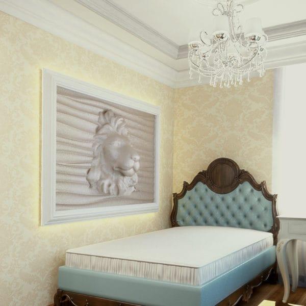 Дизайн спальни в дома