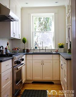 Дизайн маленькой кухни. Как сделать кухню светлой и просторной?