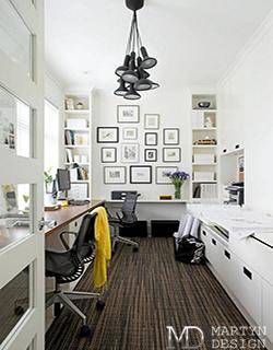 Дизайн мини-кабинета в доме и квартире