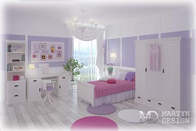 5 интерьеров детской комнаты для девочки