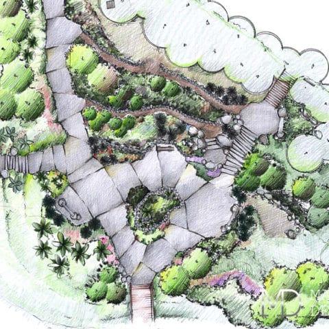 Ландшафтный дизайн проект