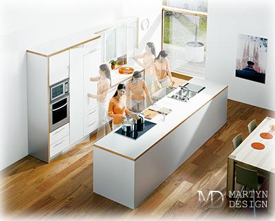 5 правил дизайна и обустройства кухни