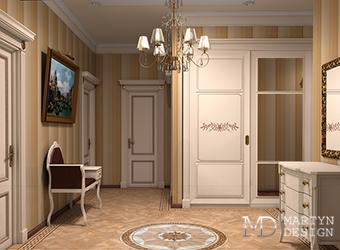 Дизайн прихожей, или интерьер для приемной во дворце