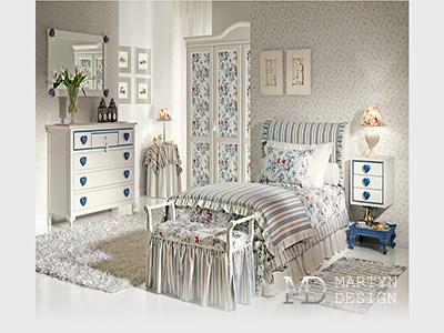 Дизайн детской комнаты в стиле прованс для девочки