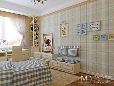 Дизайн детской комнаты во французском стиле