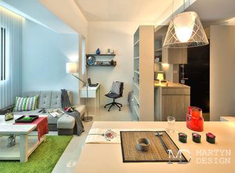 Дизайн современной квартиры-студии для мужчины