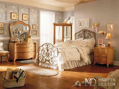 Дизайн детской комнаты для девочки, стилизованной под старину