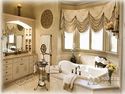 Антиквариат в дизайне ванной комнаты