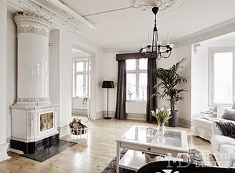 Скандинавская сдержанность в интерьере квартиры-студии
