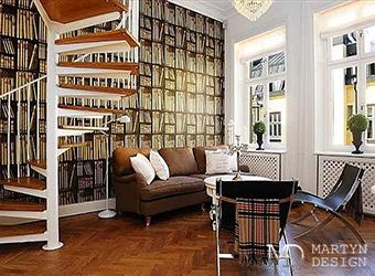 Смешение стилей в интерьере европейской гостиной
