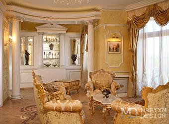 Дизайн-проект дворцового интерьера в духе классицизма