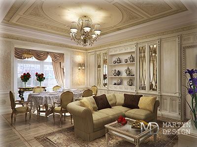 Антикварная мебель и декор в интерьере