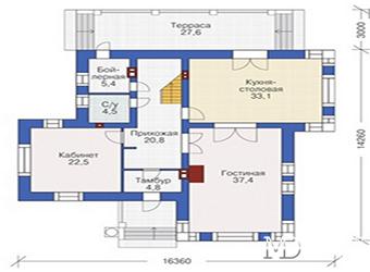 Планировка дома. Советы дизайнеров