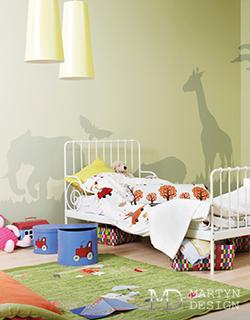 Одушевленный декор в интерьере детской