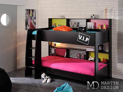 Дизайн детской комнаты с двухъярусной кроватью