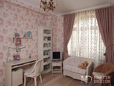 Дизайн детской спальни для девочки во французском стиле