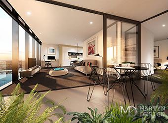 Дизайн-проект квартиры-студии