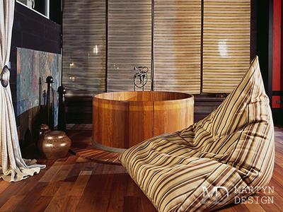 Дизайн домашнего спа в экостиле
