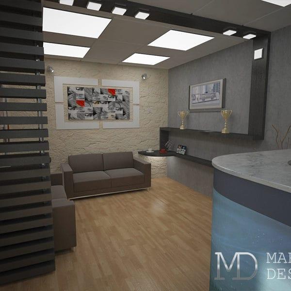 Дизайн офис студии
