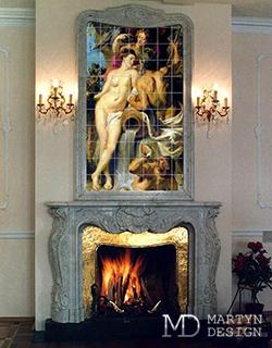 Срочная продажа керамических панно с художественной росписью. Рембрандт на керамике