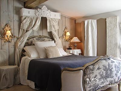 Дизайн классической спальни во французском стиле