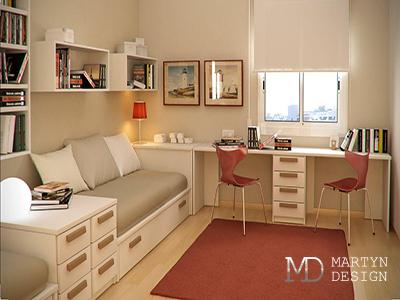 Дизайн комнаты для подростка (мальчика или девочки)