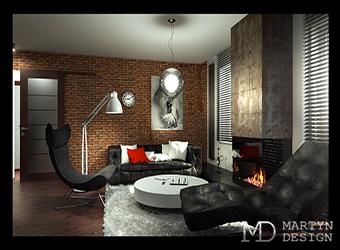 Стиль лофт в интерьере квартиры. Результаты декорирования