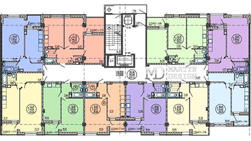 Варианты планировки квартиры площадью 90 м2