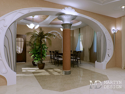 Дизайн гостиной в стиле модерн
