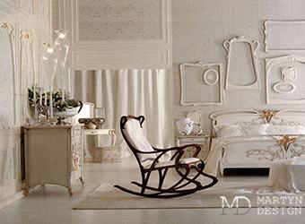 Дизайн спальни с винтажной мебелью