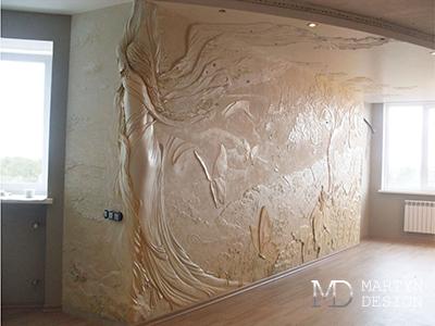 Декорирование стен в интерьере. Дизайнерские приемы и фото