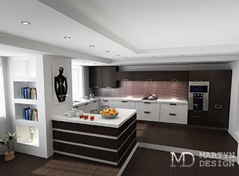 Правильное зонирование и освещение кухни
