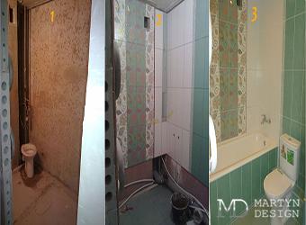Фото интерьеров ванной комнаты до и после ремонта