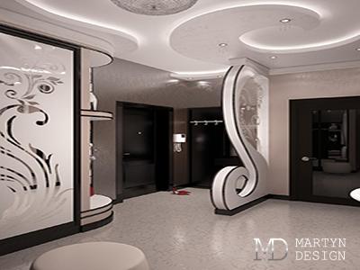 Дизайн и декорирование прихожей в стиле арт-деко