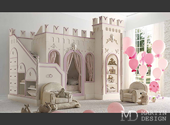 Оригинальные конструкции в дизайне детских комнат