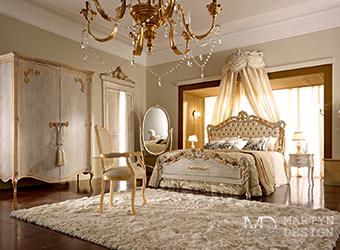Дизайн-проект спальни с венецианскими мотивами