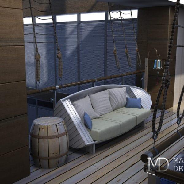 Дизайн зоны отдыха (лаунж зоны) в офисе