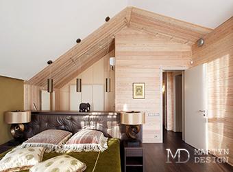 Проекты домов с мансардой: примеры интерьеров