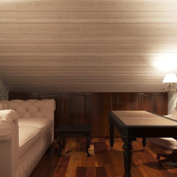 Дизайн второго этажа в доме