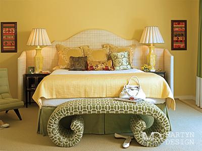 Дизайн интерьера спальни в стиле 60-х