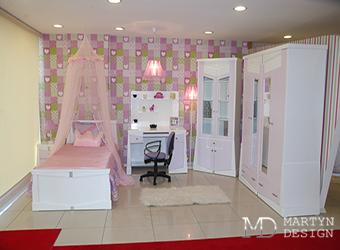 Изысканная детская комната для девочки