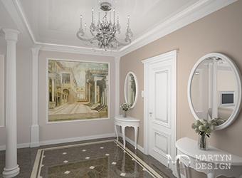 Дизайн интерьера классической прихожей