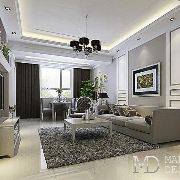 Дизайн четырехкомнатной квартиры в доме КОПЭ