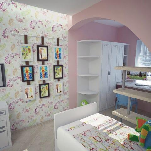 Дизайн детской в трешке в панельном доме