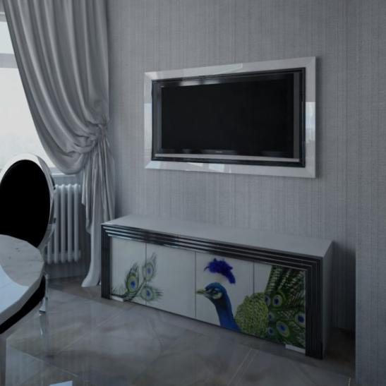 Дизайн интерьера квартиры в белых тонах
