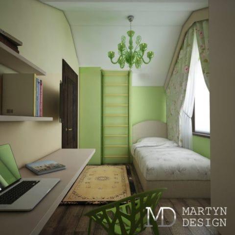 Дизайн комнаты для детей в частном доме