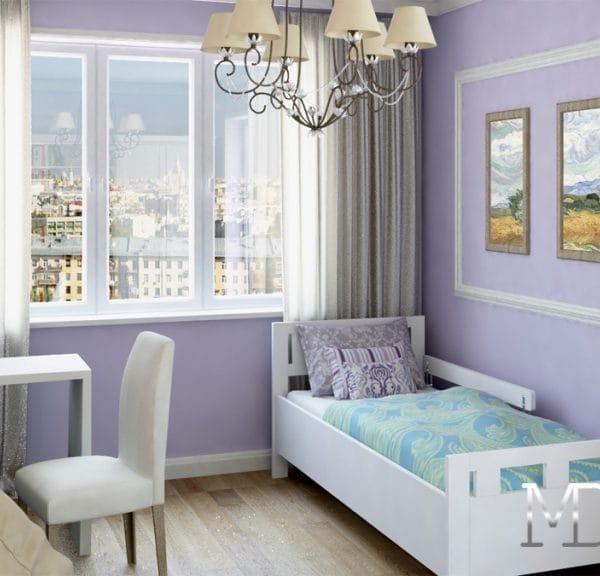 Дизайн комнаты в трешке