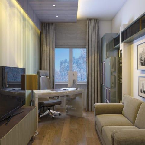 Дизайн комнаты в загородном доме