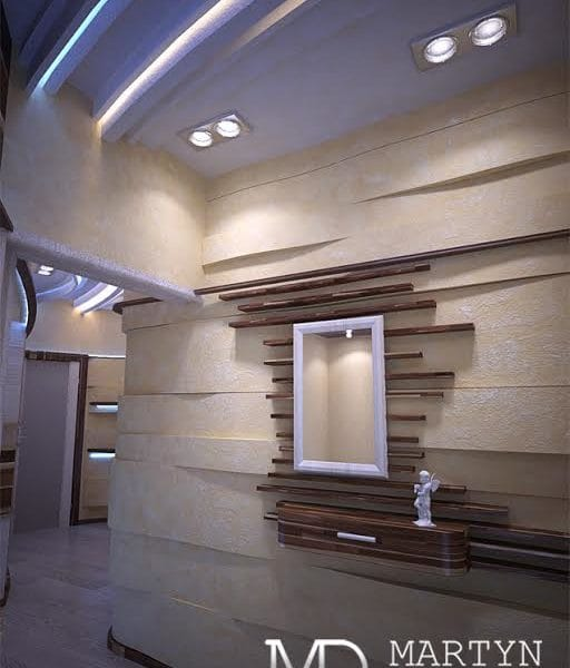 Дизайн проект интерьера коридора в двушке